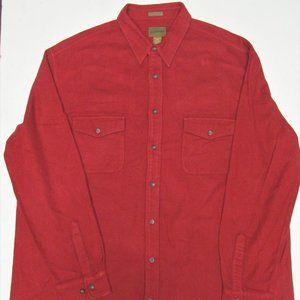 St. John's Bay Cotton Chamois Shirt Size 2X Tall
